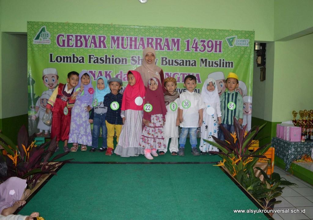 Gebyar Muharram 1439 H di TK Islam Al Syukro
