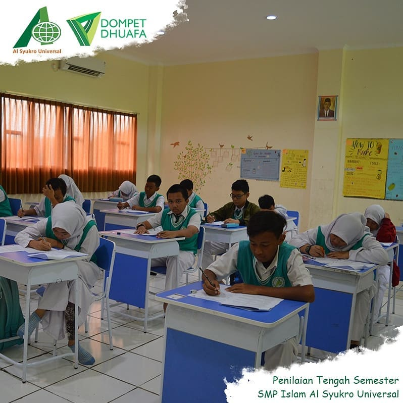 Penilaian Tengah Semester SMP Islam Al Syukro Universal