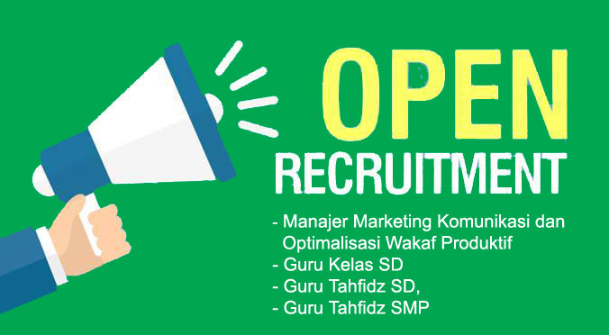 OPEN RECRUITMENT 2018